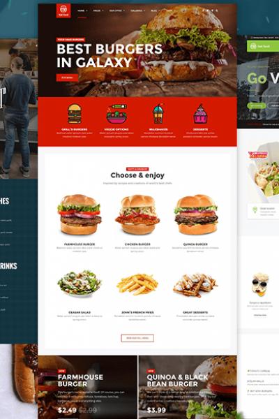Restaurants Website Design Bangladesh